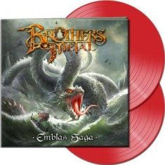 Brothers Of Metal - Emblas Saga (2 Lp Red Vinyl Gatefol