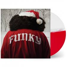 Aloe Blacc - Christmas Funk (red/white split color)