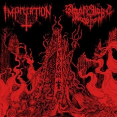 Imprecation / Black Blood Invocatio - Diabolical Flames Of The Ascended P