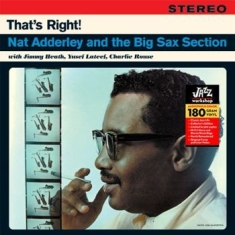 Adderley Nat - And The Big Sax Section (180Gr.)