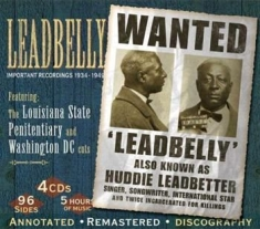 Leadbelly - Imortant Recordings 1934-1949