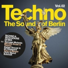 Blandade Artister - Techno-The Sound Of Berlin Vol 2