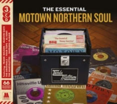 Blandade Artister - The Essential Motown Northern Soul