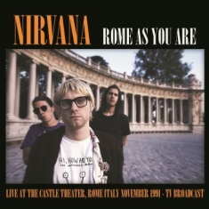 Nirvana - Live Castle Theatre, Rome Nov. 1991