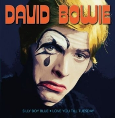 Bowie David - Silly Boy Blue/Love You (Blå Vinyl)