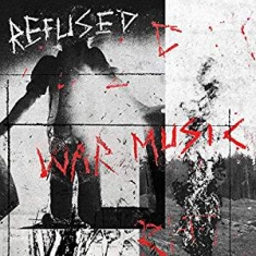 Refused - War Music (Ltd Clear w / Black Splatter Vinyl)