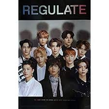Nct 127 - Regulate - Poster