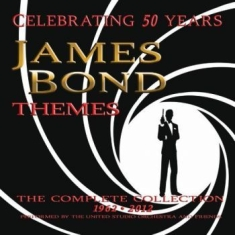 Blandade Artister - James Bond Themes: Complete Collect