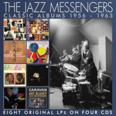 Jazz Messengers The - Classic Albums The (4 Cd) 1956-1963