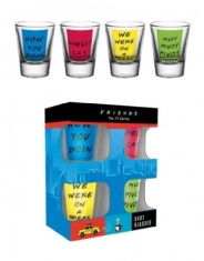 Friends - Quotes Shot Glasses