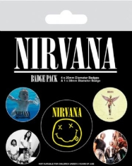 Nirvana - Badge Pack