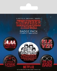 Stranger Things - Badge Pack