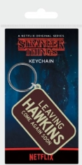 Stranger Things - Stranger Things (Leaving Hawkins) Rubber Keychain