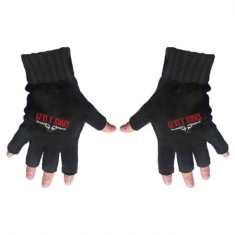 Guns N' Roses - Fingerless Gloves: Logo & Pistols