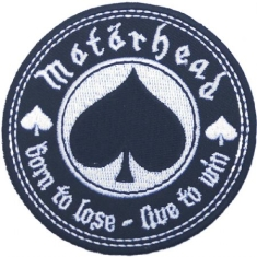 Motorhead - Standard Patch: Born to Love, Live to Win