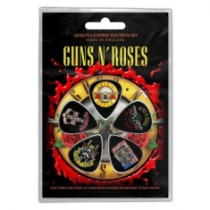 Guns N' Roses - Plectrum Pack: Bullet Logo