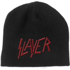 Slayer - Beanie Hat: Logo