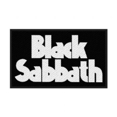 Black Sabbath - Standard Patch: Logo (Retail Pack)