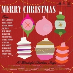 Various artists - Merry Christmas from King Records (red vinyl)