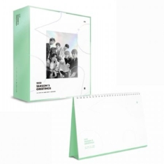 BTS - 2020 SEASON'S GREETING & WALL CALENDAR Set + Mouse pad