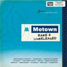 Various artists - Motown rare & unreleased (color vinyl) (RSD) IMPORT