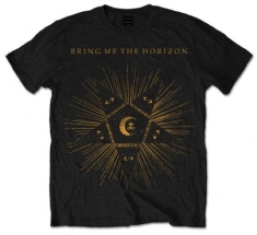 BMTH Black Star Blk T Shirt: Medium - T-shirt M