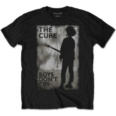 The Cure - The Cure Unisex Tee: Boys Don't Cry Black & White