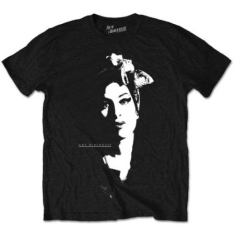 Amy Winehouse - T-shirt - Scarf Portrait (Men Black)