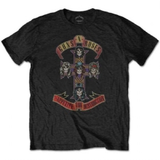 Guns N' Roses - T-shirt - Appetite for Destruction  (Men Black)