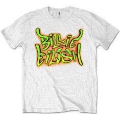 Billie Eilish - Billie Eilish Unisex Tee: Graffiti