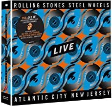 The Rolling Stones - Steel Wheels Live (Dvd+2Cd) in the group Campaigns / BlackFriday2020 at Bengans Skivbutik AB (3842678)