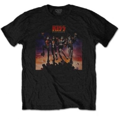 Kiss - KISS MEN'S TEE: DESTROYER