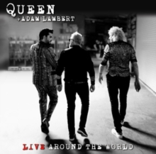 Queen + Adam Lambert - Live Around The World (Cd+Dvd) in the group OTHER / Music-DVD at Bengans Skivbutik AB (3848187)