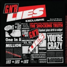 Guns N' Roses - Guns N' Roses Single Cork Coaster: Lies