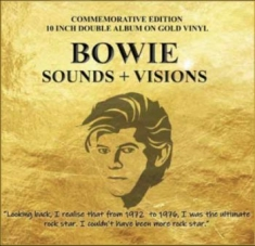 "Bowie David - Sounds + Visions (2X10"" Gold Vinyl)"