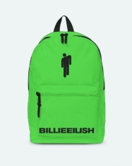 Billie Eilish - Classic Backpack Green - Bad Guy