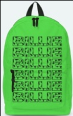 Billie Eilish - Classic Backpack Green - Billie