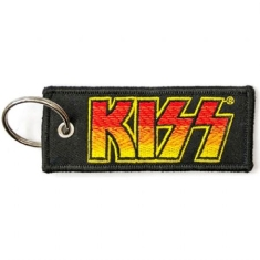 Kiss - KISS Keychain: Classic Logo (Double Sided Patch)