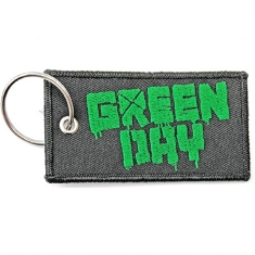 Green Day - Green Day Keychain: Logo (Double Sided Patch)
