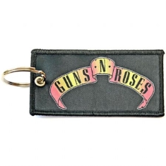 Guns N' Roses - Guns N' Roses Keychain: Scroll Logo (Double Sided Patch)