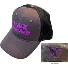 Black Sabbath - Black Sabbath Unisex Baseball Cap: Wavy Logo (2-Tone)