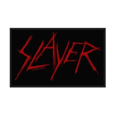 Slayer - Slayer Standard Patch: Scratched Logo (Loose)