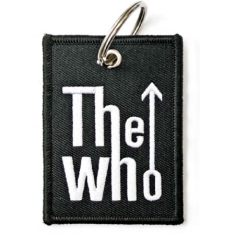 Who - The Who Keychain: Arrow Logo (Double Sided Patch)