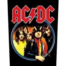 AC/DC - BACK PATCH: HIGHWAY TO HELL (LOOSE)