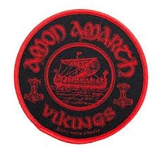 Amon Amarth - STANDARD PATCH: VIKINGS CIRCULAR (LOOSE)