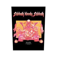 Black Sabbath - BACK PATCH: SABBATH BLOODY SABBATH (LOOSE)
