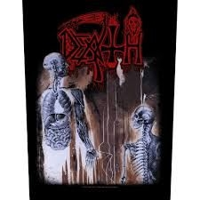 Death - BACK PATCH: HUMAN (LOOSE)