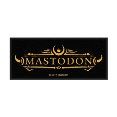 Mastodon - STANDARD PATCH: LOGO (LOOSE)