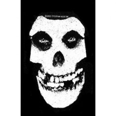 Misfits - STANDARD PATCH: WHITE SKULL (LOOSE)