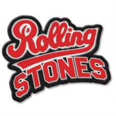 Rolling Stones - The Rolling Stones Standard Patch: Team Logo with Iron On Finish